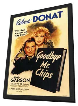 Goodbye Mr. Chips - 11 x 17 Movie Poster - Style A - in Deluxe Wood Frame