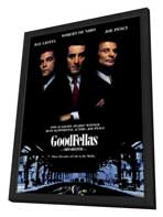 Goodfellas - 11 x 17 Movie Poster - Style D - in Deluxe Wood Frame