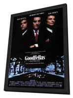 Goodfellas - 27 x 40 Movie Poster - Style A - in Deluxe Wood Frame
