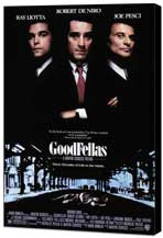 Goodfellas - 11 x 17 Movie Poster - Style A - Museum Wrapped Canvas