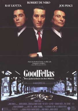 Goodfellas - 11 x 17 Movie Poster - German Style A