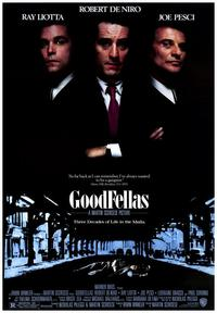 Goodfellas - 43 x 62 Movie Poster - Bus Shelter Style A