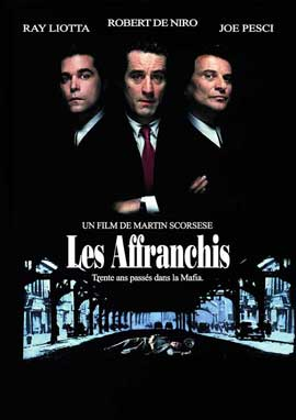 Goodfellas - 11 x 17 Movie Poster - French Style B