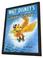 Goofy's Glider - 27 x 40 Movie Poster - Style A - in Deluxe Wood Frame