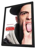 Goon - 11 x 17 Movie Poster - Style C - in Deluxe Wood Frame
