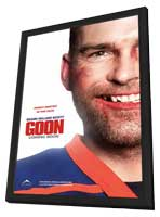 Goon - 27 x 40 Movie Poster - Canadian Style A - in Deluxe Wood Frame