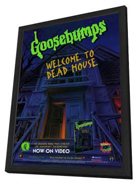Goosebumps - 11 x 17 Movie Poster - Style A - in Deluxe Wood Frame
