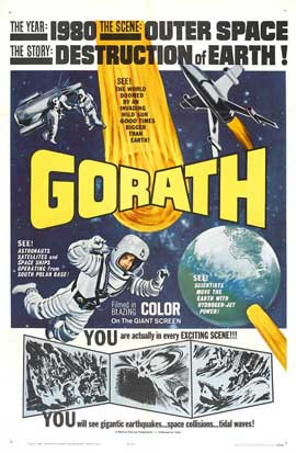 Gorath - 27 x 40 Movie Poster - Style A