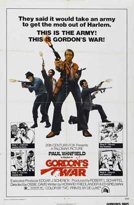 Gordon's War - 27 x 40 Movie Poster - Style A