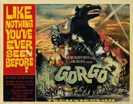 Gorgo - 22 x 28 Movie Poster - Half Sheet Style A