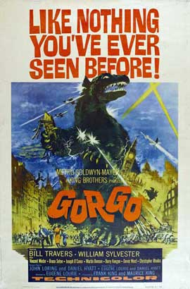 Gorgo - 11 x 17 Movie Poster - Style B