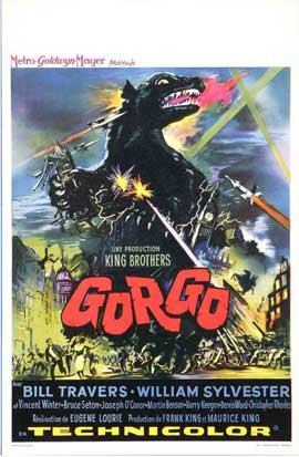Gorgo - 11 x 17 Movie Poster - Style C