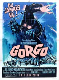 Gorgo - 11 x 17 Movie Poster - French Style A