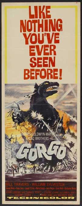 Gorgo - 14 x 36 Movie Poster - Insert Style A