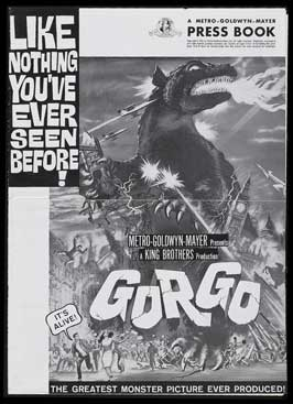 Gorgo - 11 x 17 Movie Poster - Style D