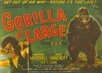 Gorilla at Large - 11 x 14 Movie Poster - Style A