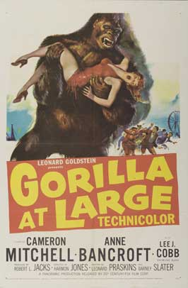 Gorilla at Large - 11 x 17 Movie Poster - Style A