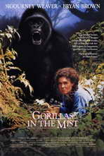 Gorillas in the Mist - 11 x 17 Movie Poster - Style A