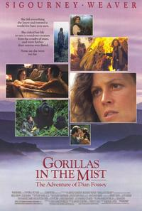 Gorillas in the Mist - 11 x 17 Movie Poster - Style B