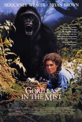 Gorillas in the Mist - 27 x 40 Movie Poster - Style A