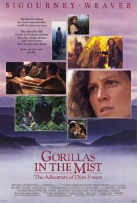 Gorillas in the Mist - 27 x 40 Movie Poster - Style B