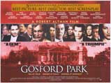 Gosford Park - 43 x 62 Movie Poster - Bus Shelter Style A