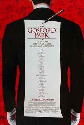 Gosford Park - 27 x 40 Movie Poster - Style B