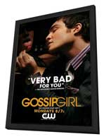Gossip Girl (TV) - 11 x 17 TV Poster - Style R - in Deluxe Wood Frame