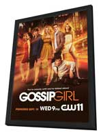 Gossip Girl (TV) - 27 x 40 TV Poster - Style A - in Deluxe Wood Frame