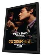Gossip Girl (TV) - 27 x 40 TV Poster - Style B - in Deluxe Wood Frame