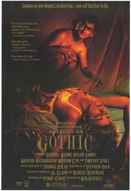 Gothic - 27 x 40 Movie Poster - Style A