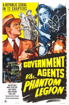 Government Agents vs Phantom Legion - 11 x 17 Movie Poster - Style A