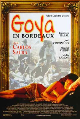 Goya in Bordeaux - 27 x 40 Movie Poster - Style B