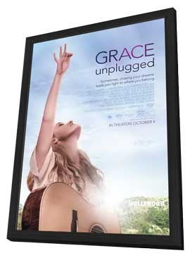 Grace Unplugged - 27 x 40 Movie Poster - Style A - in Deluxe Wood Frame