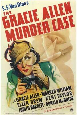 Gracie Allen Murder Case - 11 x 17 Movie Poster - Style A
