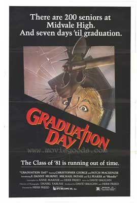 Graduation Day - 27 x 40 Movie Poster - Style A