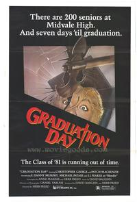 Graduation Day - 43 x 62 Movie Poster - Bus Shelter Style A