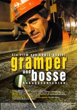 Gramper und Bosse - Bahngeschichten - 27 x 40 Movie Poster - Swiss Style A