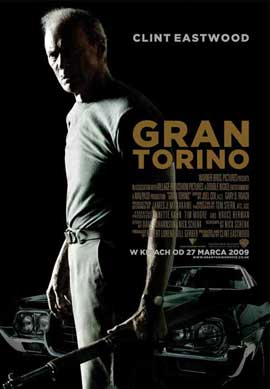Gran Torino - 27 x 40 Movie Poster - Polish Style A