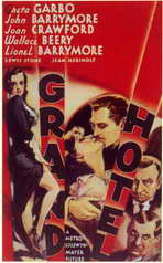 Grand Hotel - 11 x 17 Movie Poster - Style A