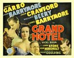 Grand Hotel - 22 x 28 Movie Poster - Half Sheet Style A