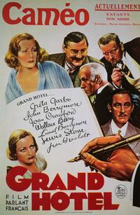 Grand Hotel - 11 x 17 Movie Poster - French Style A