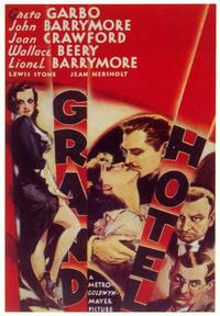 Grand Hotel - 43 x 62 Movie Poster - Bus Shelter Style A