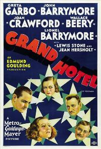 Grand Hotel - 43 x 62 Movie Poster - Bus Shelter Style B