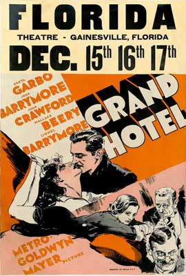 Grand Hotel - 27 x 40 Movie Poster - Style C