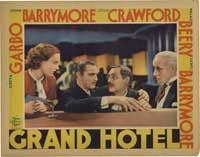 Grand Hotel - 11 x 14 Movie Poster - Style E