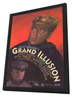 Grand Illusion - 11 x 17 Movie Poster - Style B - in Deluxe Wood Frame