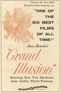 Grand Illusion - 11 x 17 Movie Poster - Style A