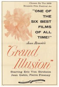 Grand Illusion - 27 x 40 Movie Poster - Style A
