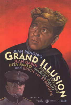 Grand Illusion - 27 x 40 Movie Poster - Style B